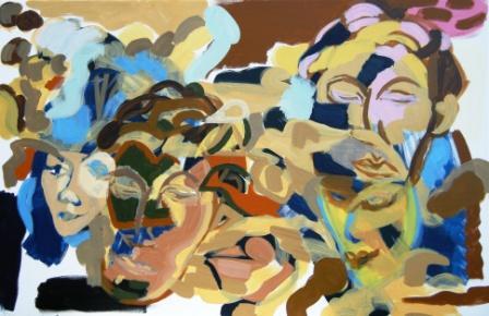 Oil on canvas H 60cm x W 91cm