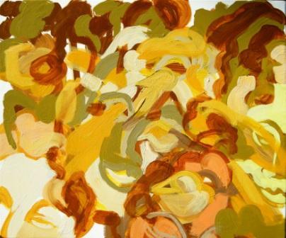 Oil on canvas H 51cm x W61cm