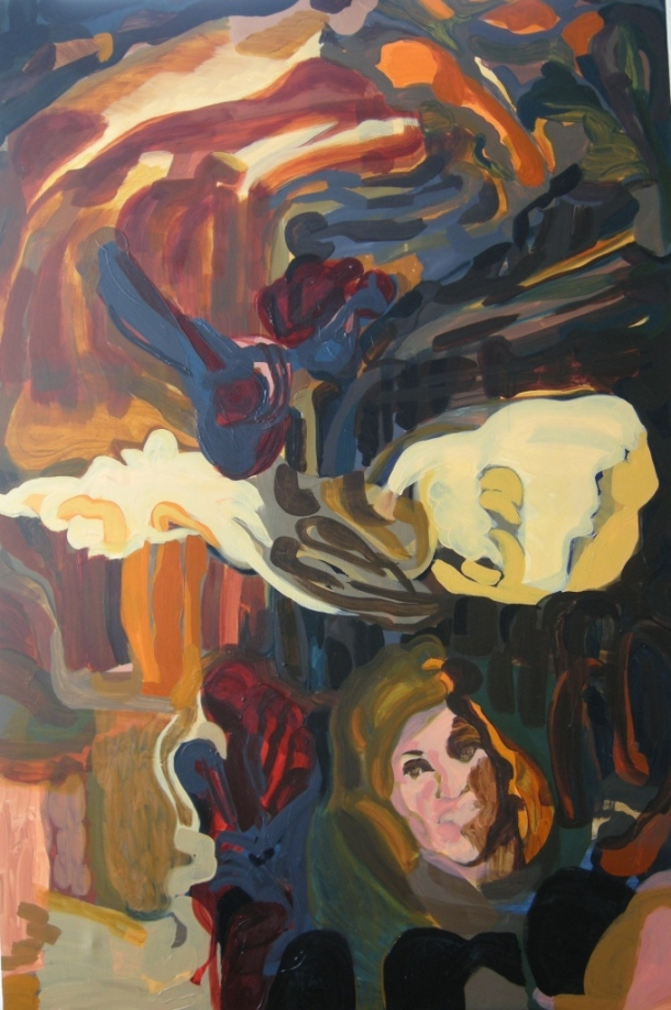 Oil on canvas H 150cm x W 100cm