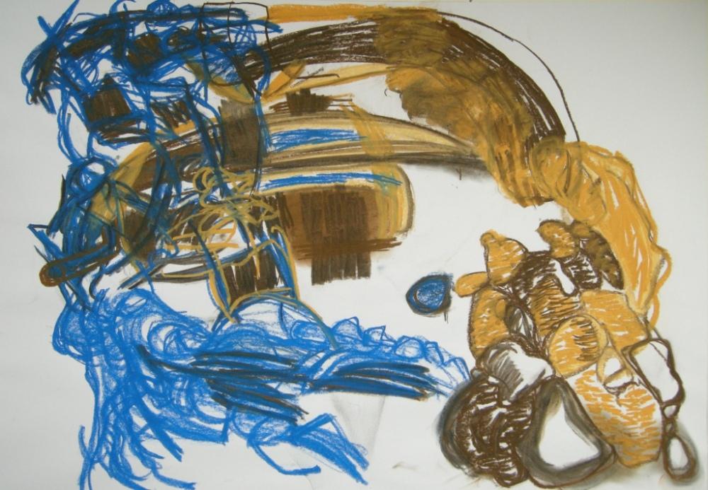 ephemeral 3rd draft, Drawing, H 56cm x W 80cm