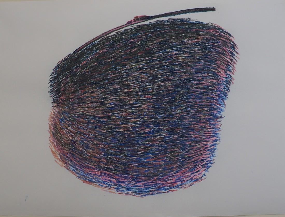 Pastel drawing; H 59cm x W 84cm